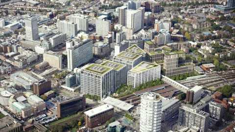 Landscape of Ruskin Square development in Croydon. Pic: Stanhope Development