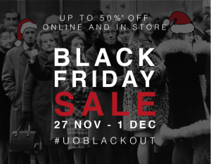 Urban Outfitters Black Friday. Pic: Urban Outfitters