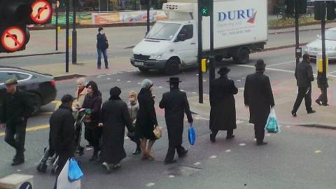 Stamford Hill is a predominantly Hasidic community. Pic: Alice Harrold