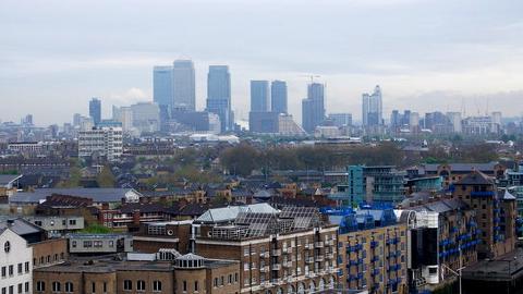 London borough of Tower Hamlets. Pic: N Chadwick