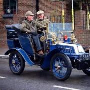 Participants in Bonham's London to Brighton Veteran Car Run. Pic: Patrick Bragoli