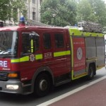 London Fire Brigade. Pic: Alex Drennan