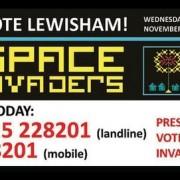 Lewisham Space Invaders project. Pic: Phoenix Community