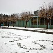School at Christmas. Pic: T.E. Nichols