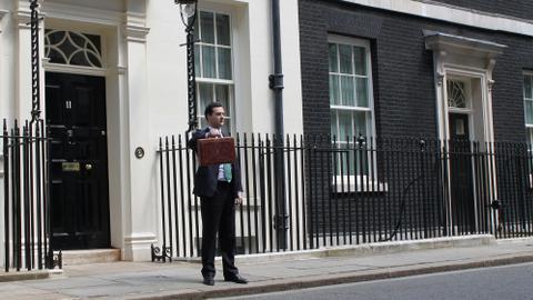 George Osborne Autumn statement. Pic: HM Treasury