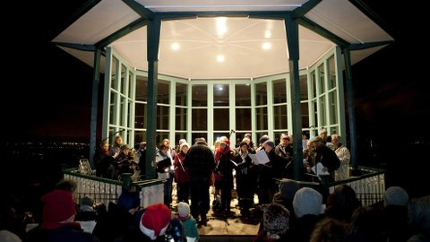 Community Choir Singalong. Pic: Ludovic des Cognets and Horniman Museum and Gardens