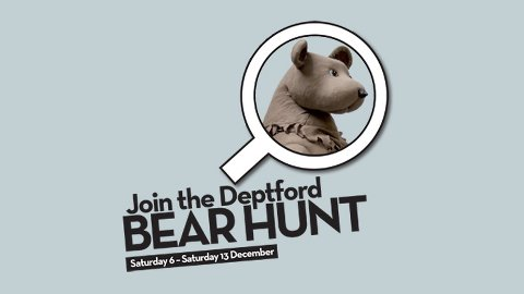 Deptford Bear Hunt. Pic: The Albany at Deptford Lounge