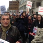 New Era protest in London. Pic: James Benge