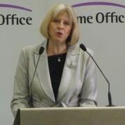 Theresa May. Pic: Home Office.