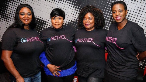 Oh!Mother anti-violence campaigners. Pic: Oh!Mother