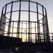 Bethnal Green gas holder photo by Patrick Jones
