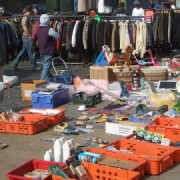 Kingsland Waste market. Pic: Michael Rank
