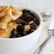 The Porridge Cafe will serve savoury and sweet porridge dishes. Pic: Porridge Cafe
