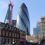 The Gherkin building in London. Pic: Morgan Liessenhoff and Claudia Niubo Fe