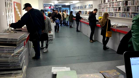 Flashback has been doing a roaring trade since opening. Pic: James Benge