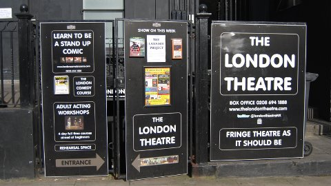 London theatre. Pic: Muna Fadhil