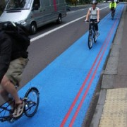 One of the already existing Cycle Superhighways in London. Pic: ©Transport for London