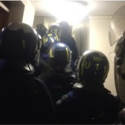 A crackdown on organised crime has led to the arrest of 41 people in morning raids Pic: Metropolitan Police