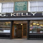 G. Kelly shopfront. Home of the East London pie. Pic: Lamees Altalebi