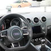 Interior of Audi car. Pic: Robert Basic