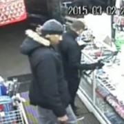 CCTV image of two suspects wanted in connection with robbery in Thornton Heath. Pic: Met Police