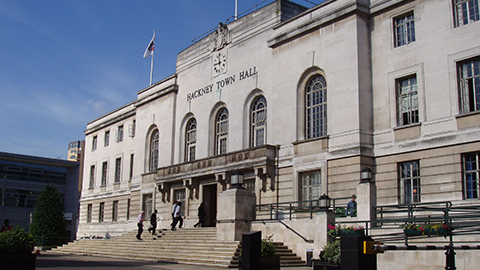 Hackney Town Hall. Pic: Redlentil