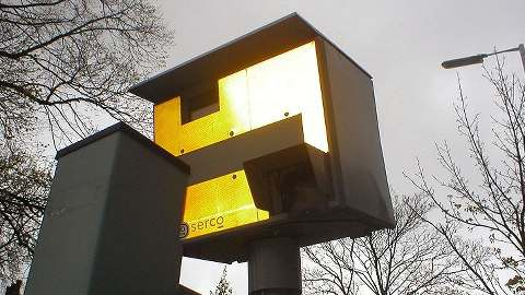 Speed Camera. Pic: David Bleasdale