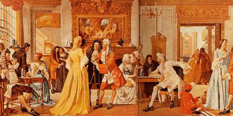 White's Chocolate House in 1708. Pic: Salvor