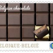 A Bpost chocolate stamp. Pic: Bpost
