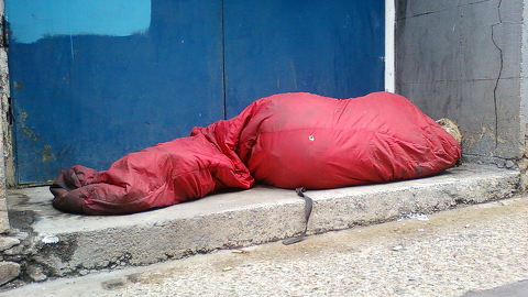 Rough sleepers use services like those in Queen's Gardens often. Pic: Blodeuwedd