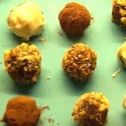 Eastlondonlines' easy homemade truffle selection Pic: Harriet Mallinson