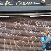 Café Crema frontage this week