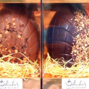 Belinda's handmade Easter eggs at Broadway Market Pic: Harriet Mallinson