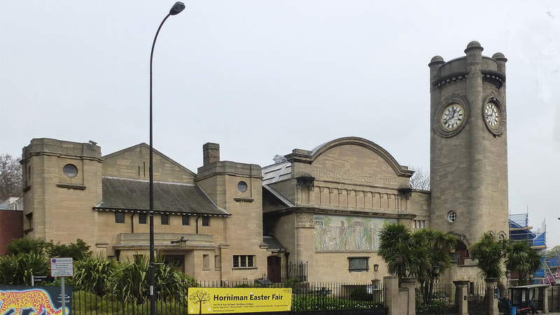 The Horniman Museum in Forest Hill, Lewisham. Original photo: Julian Osley (CC BY-SA 2.0)