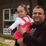Lewisham residents go to the polls. Pic: Anna Mellin