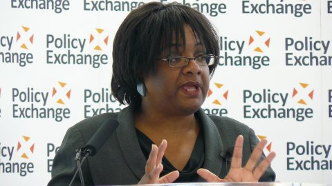 Caption: Labour MP Diane Abbott. Photo: Policy Exchange