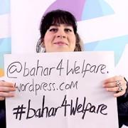 Pic: Bahar Mustafa in her campaign manifesto video. Credit: Goldsmiths' SU