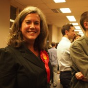 Labour MP Heidi Alexander was re-elected in Lewisham East. Pic: Anna Mellin