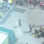 Croydon stabbing outside McDonalds Pic: @DanPeroni