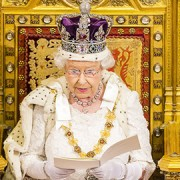 Queen Elisabeth II, during the State Opening of Parliament 2015. Pic: UK Parliament