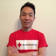 David Cheng volunteers for the British Red Cross alongside his studies.