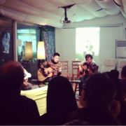 Gig organised by Sofar Sounds. Pic: Evic Dong