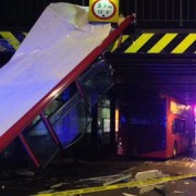 Devastation at the scene Pic: London Ambulance Service