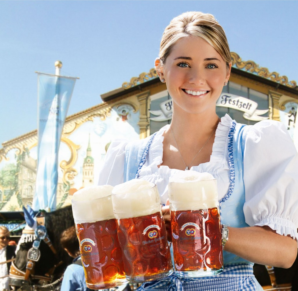 traditional German dirndl dress