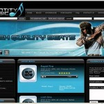 Scam: A screenshot of Benson's set money laundering company called Identity Music.
