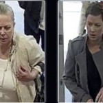 The suspected fraudsters caught on CCTV    Pic: City of London Police