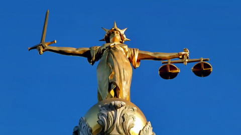 Lady Justice. Pic: Wikipedia Commons