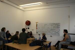 Biohackspace iGEM meeting. Pic: Jennifer Hahn.
