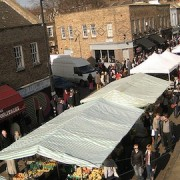 Pic: Broadway Market, Hackney. Credit: Jeff Easter.