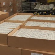 Pic: cigarettes seized in Croydon. Credit: HM Revenue & Customs
